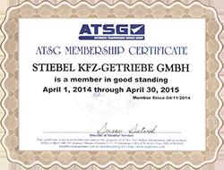 ATSG Zertifizierung